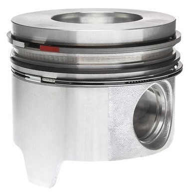 MAHLE 224-3409WR PISTON WITH RINGS (STANDARD - REDUCED COMPRESSION)