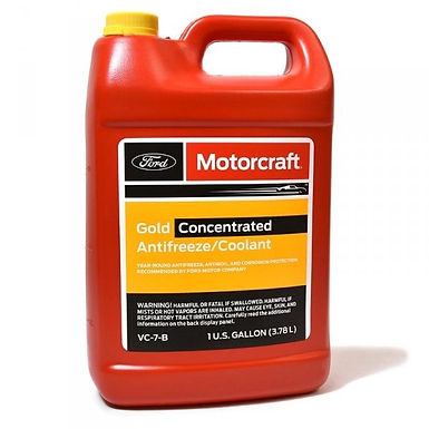 MOTORCRAFT VC-7-B GOLD CONCENTRATED ANTIFREEZE/COOLANT