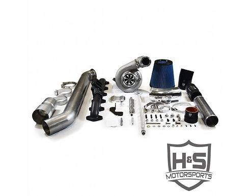 H&S Motorsports 212002 Single SX-E Turbo Kit   10-12 Dodge 6.7L Cummins