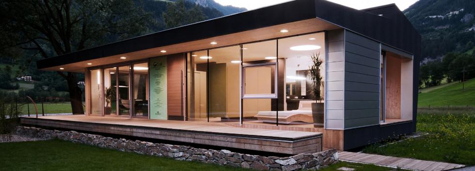 Designhaus COOP Ferienhaus Osttirol auße