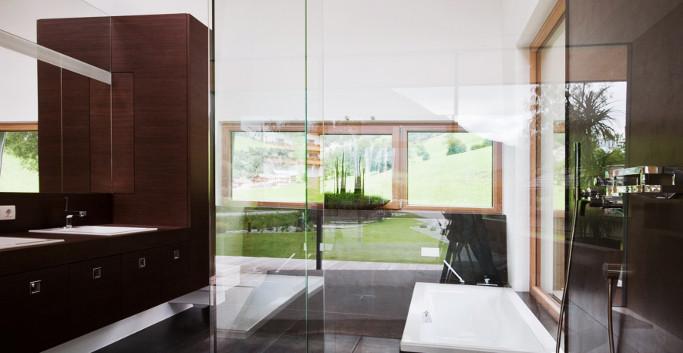 Designhaus COOP Ferienhaus Osttirol Bade