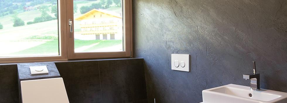 Designhaus COOP Ferienhaus Osttirol WC