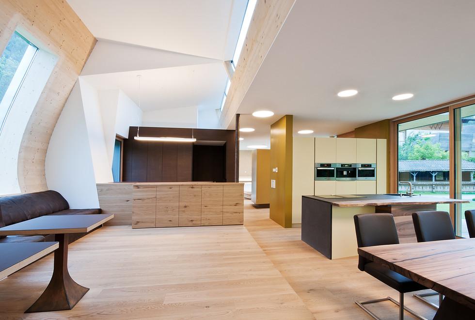 Designhaus COOP Ferienhaus Osttirol Wohn