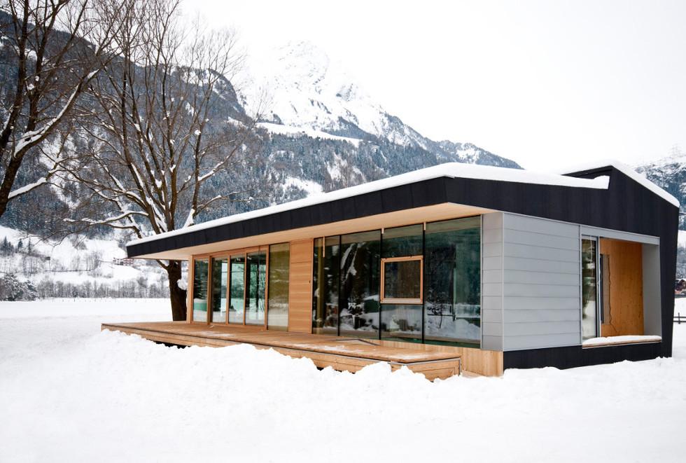 Designhaus COOP Ferienhaus Osttirol Wint