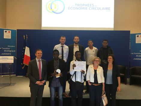 La 2 ème journée sur le Développement Durable au lycée Voillaume a été primée dans le cadre des Trop
