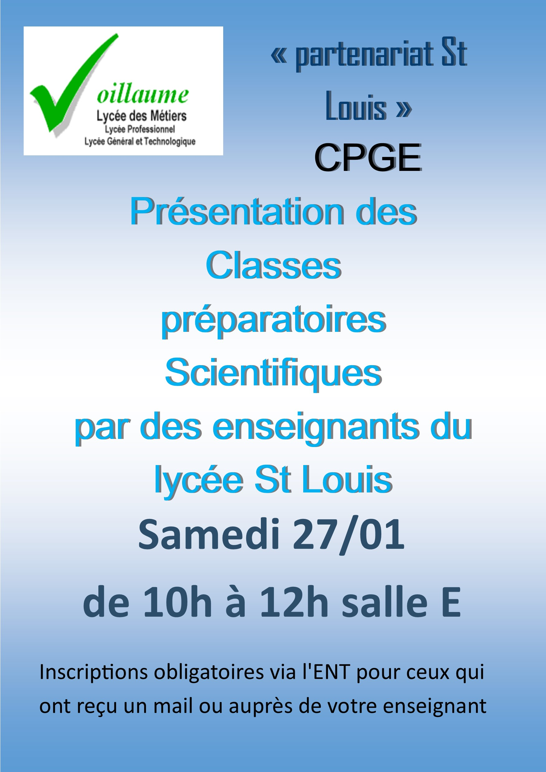 affiches CPGE