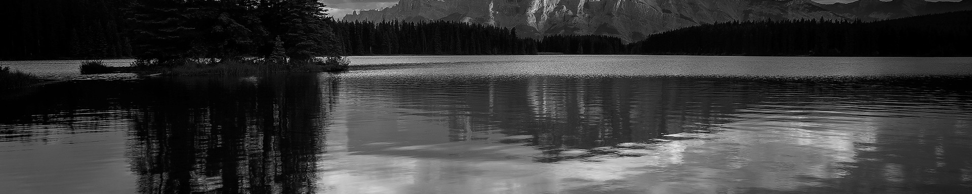 Rundle Shadows (black and white)