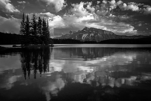Rundle Shadows - Matted Print