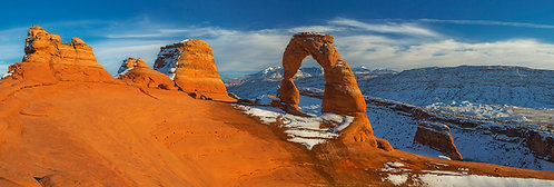 Winter at Delicate Arch