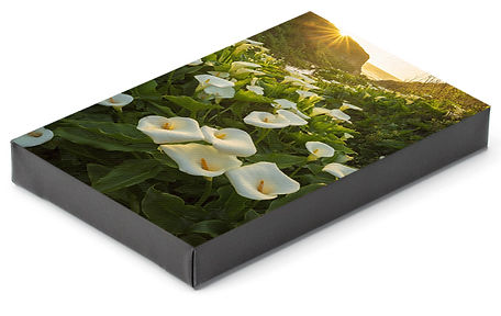 Chase Dekker's photos can be printed on wrapped canvas.