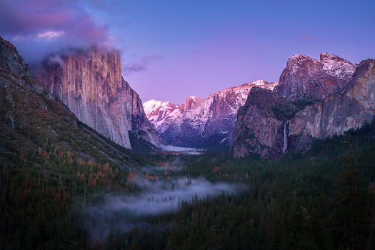 El Capitan and Yosemite Valley are photographed on Chase Dekker's Yosemite workshop.