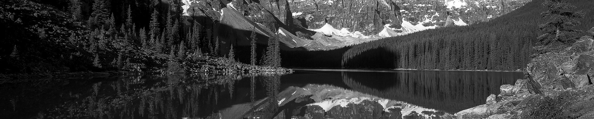 Canadian Mirror (black and white)