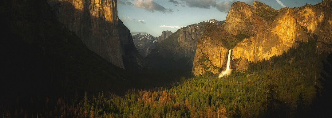 Springtime at Tunnel View
