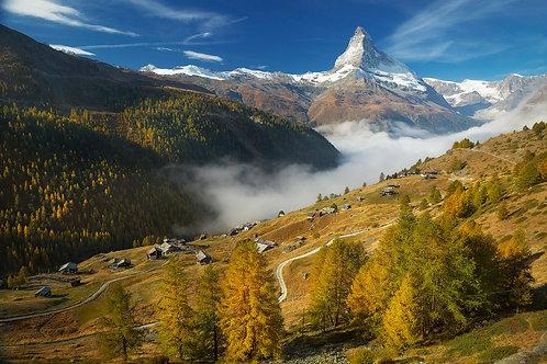 Autumn Under the Matterhorn