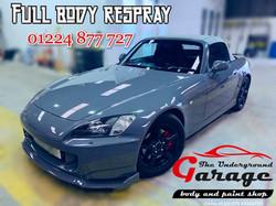 Honda Restoration Full Body Respray