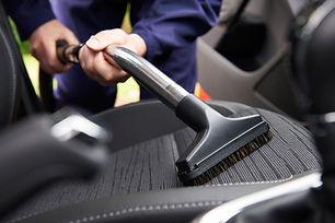 Car seat vacuum, car detailing and clean