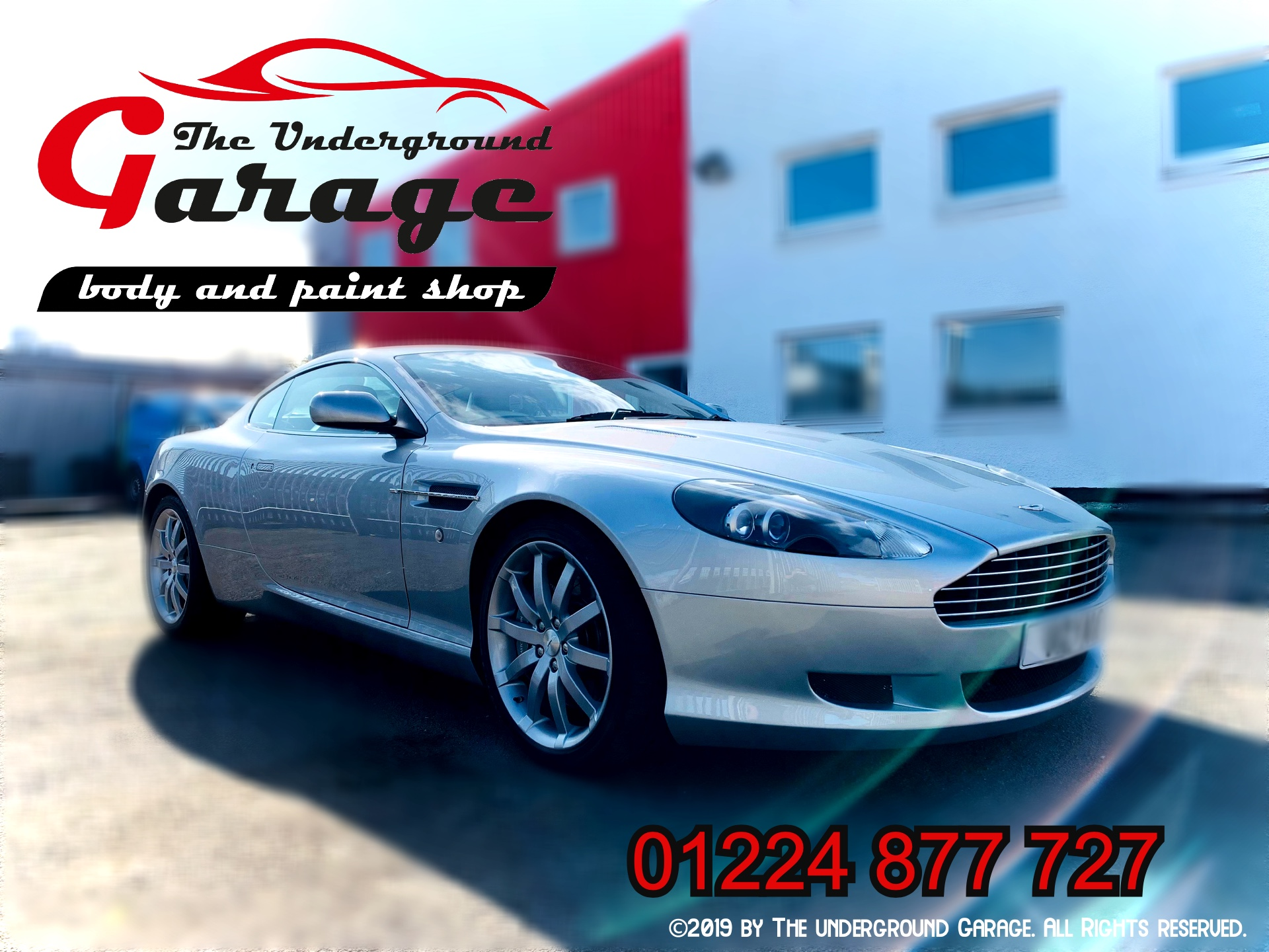 Aston Martin Full Body Respray