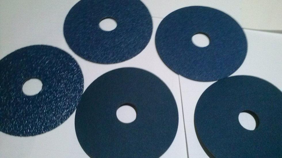 """Disco Lixa 7"""" x 7/8 Azul"""