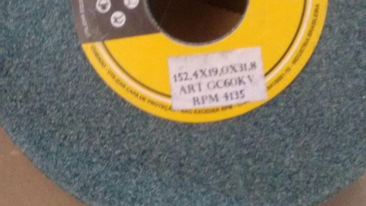 "Rebolo Abrasivo Esmeril    6"" x 5/8 x 31,8 widea"
