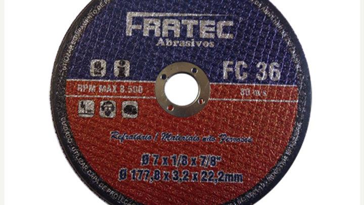 """Disco Corte Não Ferrosos 12"""" x3,2 x 15,9"""