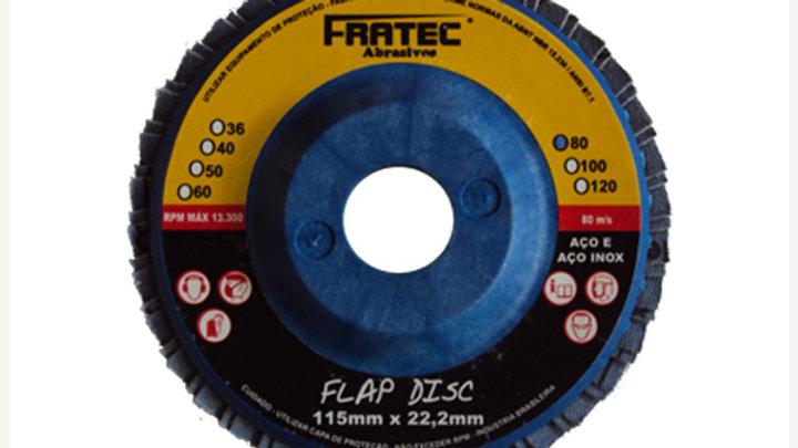 "Disco Flap 4""1/2 x 22,2  Fibra industrial"