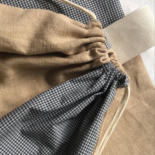 Check | Linen Store Bag