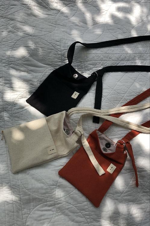 Wander Bag : Orange | Natural  | Black