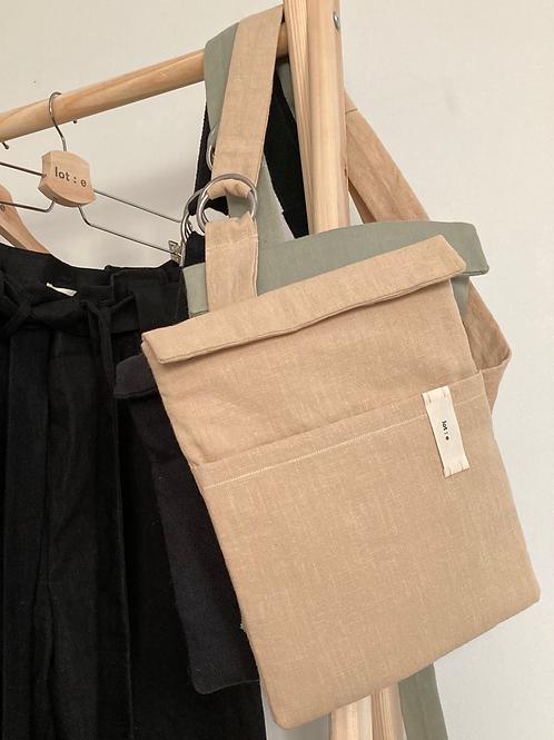 O Ring Strap Bag : Sand   Sage   Black