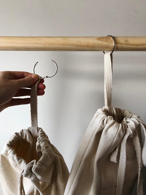 Natural Hanging Store Bag