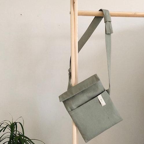 O Ring Strap Bag : Sage