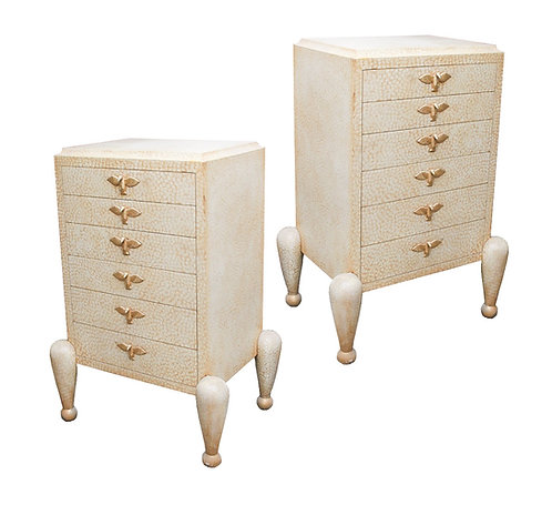 PAIR OF ART DECO CHEST OF DRAWERS