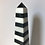 Thumbnail: SIX BLACK & WHITE MARBLE OBELISKS