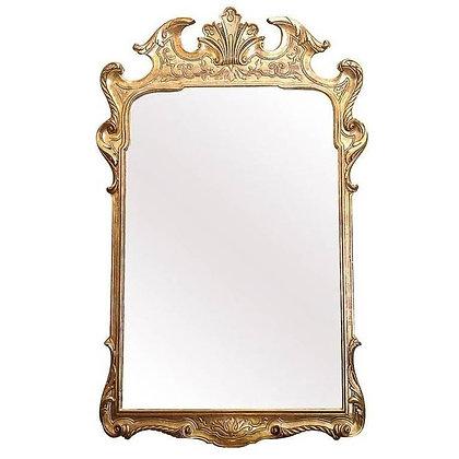 George I Gilt-Gesso Mirror