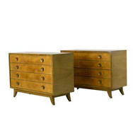 Gilbert Rohde for Herman Miller Pair of Chests