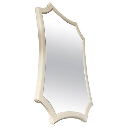 Maitland-Smith Sculptural Tessellated Stone Mirror