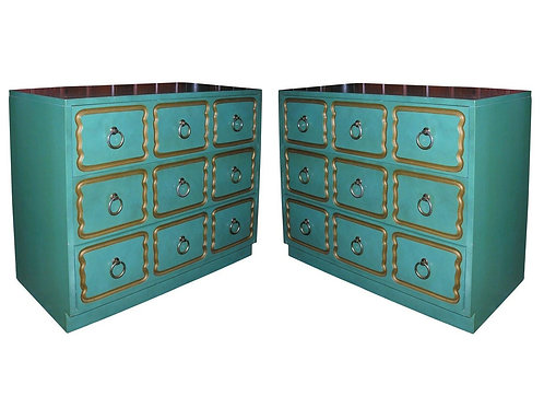 "A PAIR OF CLASSIC ""ESPANA"" CHESTS DESIGNED BY DOROTHY DRAPER"