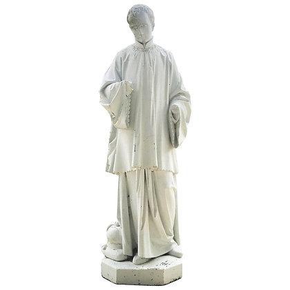 Late 18th Century Lifesize Stone Statue
