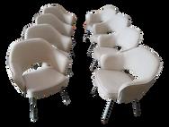 8 Saarinen for Knoll Executive Armchairs