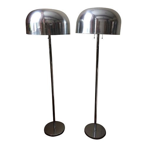 Pair of Mushroom Floor Lamps