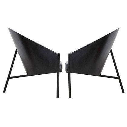 """Pair Philippe Starck """"Pratfall"""" Easy Chairs"""