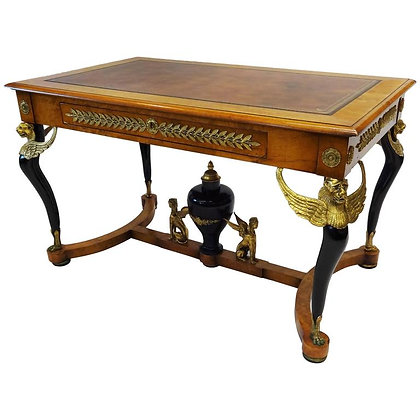 19th Century French Empire Writing/Center Table