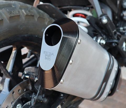 KTM 390 Adventure Exhaust End Cap - Black