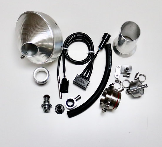 Power Bundle with / Silver End Cap for 2017-19 FE-S 250 / 350