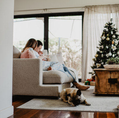 Christmas is on its way! Newborn Session - Brisbane Lifestyle Photographer