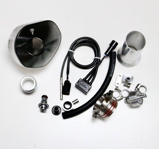 Power Bundle / black end cap for 17-19 450/500 EXC-F / 6 days