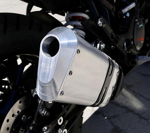 KTM 390 Performance Exhaust End Cap