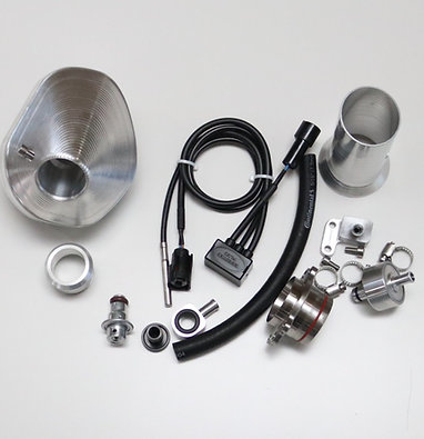 Power Bundle with  Silver End Cap for 2017-19 EXC-F 250 / 350