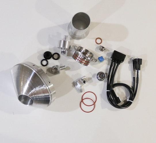 Power Bundle Silver End Cap 02 delete for 2020-21 500 XCF-W / 501 FE