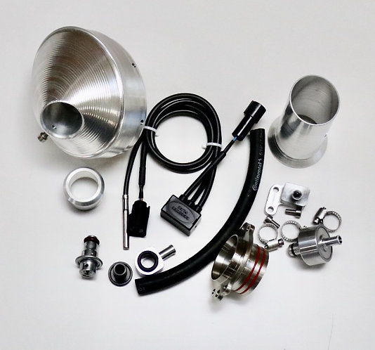 Power Bundle  / Silver end cap for 17-19 FE 450 / 501