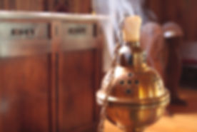 Incense used on high holy days